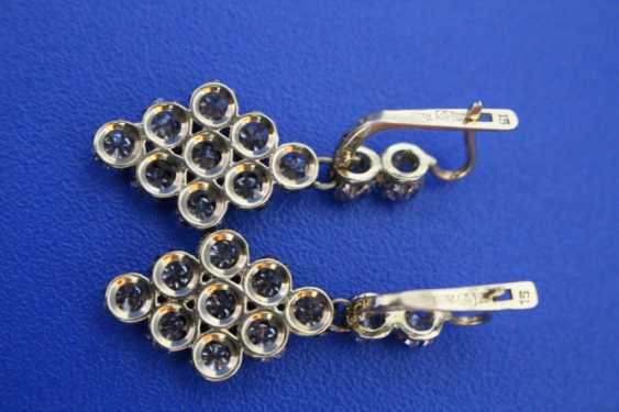 Set of jewelry (ring, earrings) (750) - photo 4