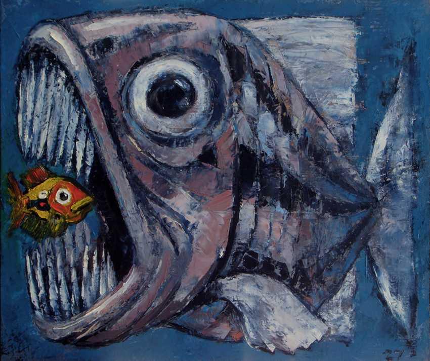 Dima Tsutskiridze. two fish - photo 1