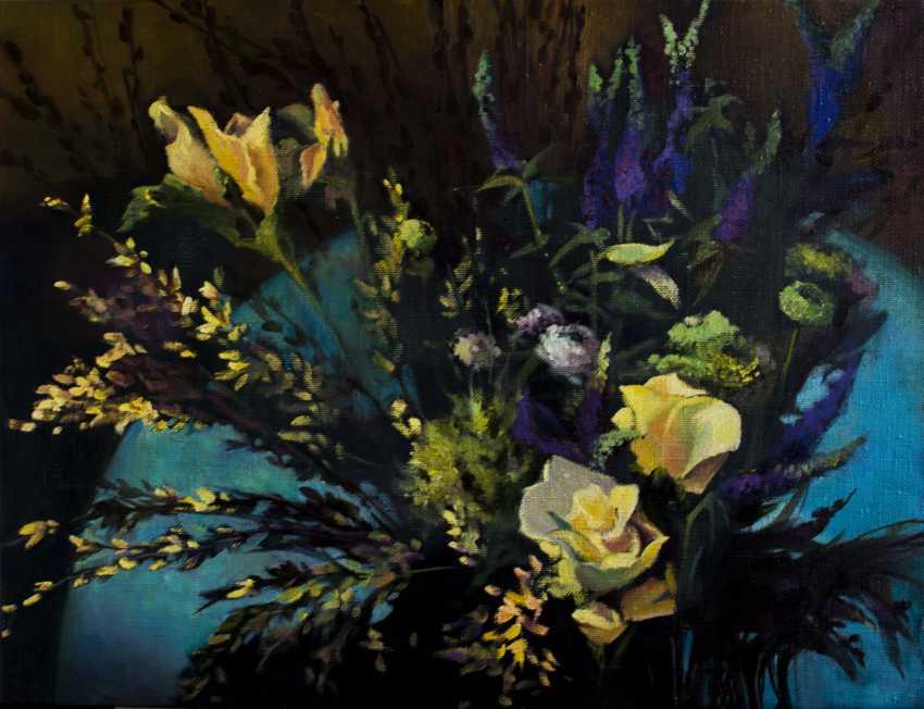 Svitlana Gavryshchuk. Yellow roses - photo 1