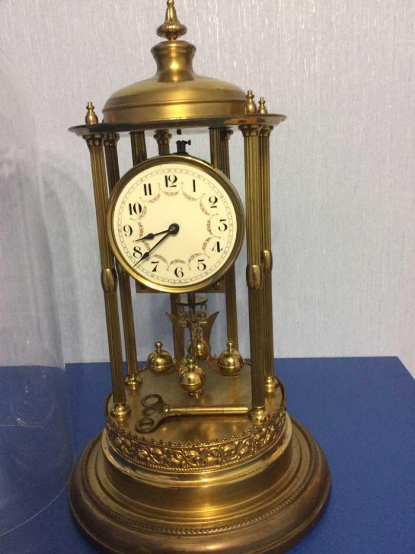 Clock Kieninger & Obergfell, 400 day/annual plant, Germany, 1930s - photo 9