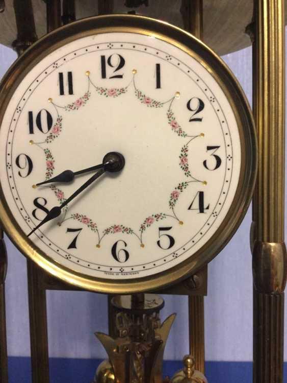 Clock Kieninger & Obergfell, 400 day/annual plant, Germany, 1930s - photo 8