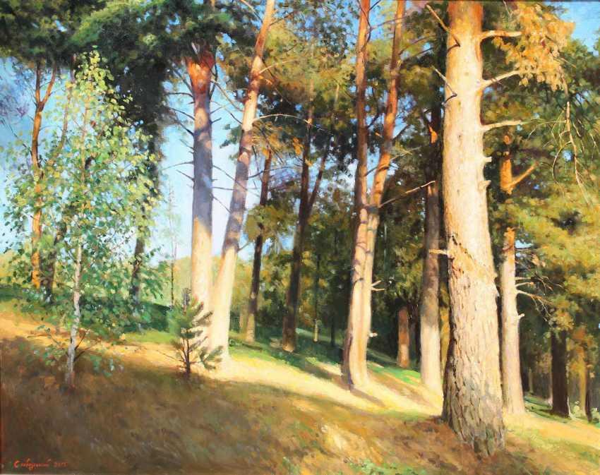 """Vitaliy Slobodskyy. """"Pine over Maloboleznennye monastyrem"""" - photo 1"""