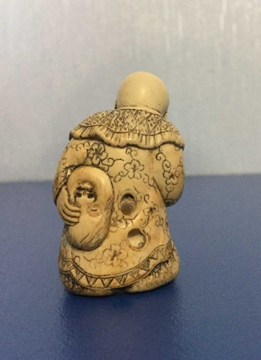 Netsuke, ivory, China - photo 3