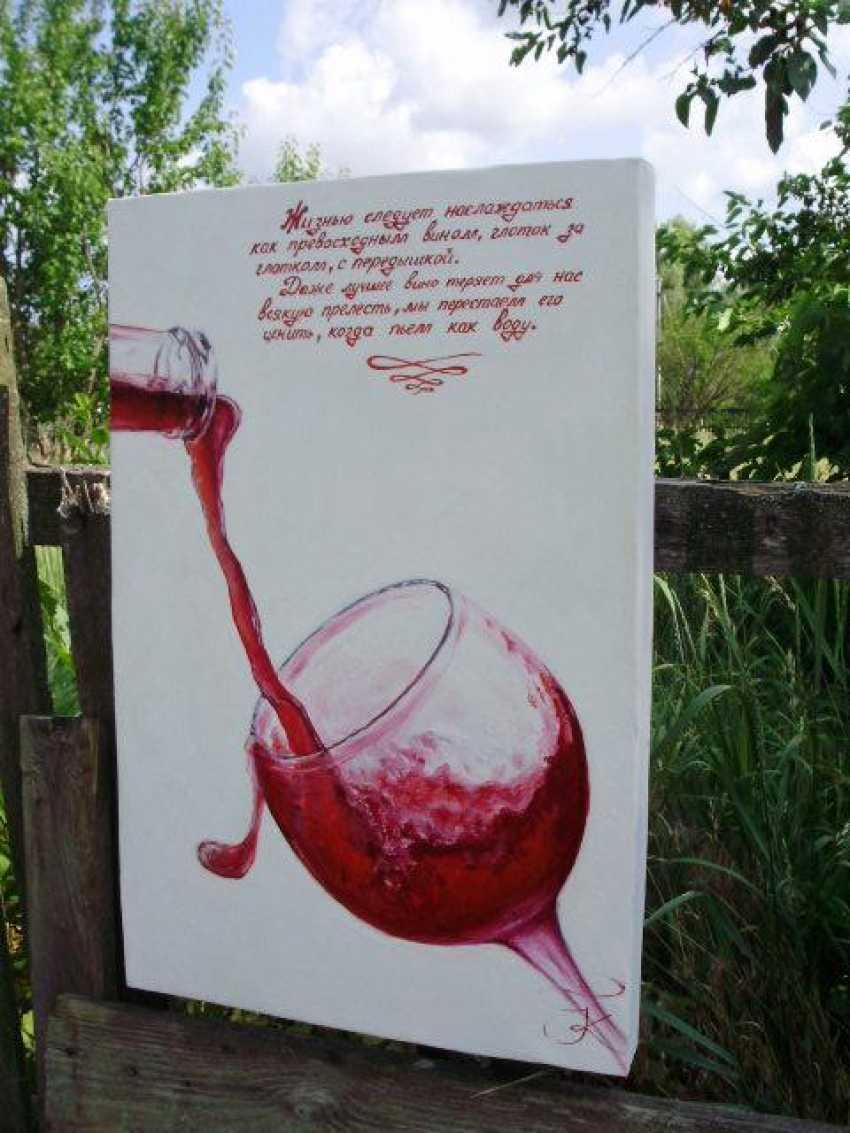 "Katarina Orlova. Oil painting ""Life should be enjoyed"" - photo 4"