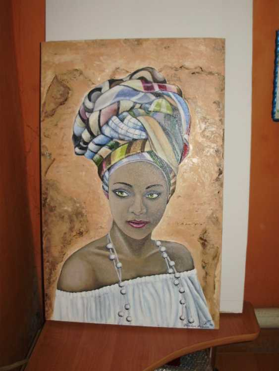"Katarina Orlova. Portrait oil painting ""the Pearl of Africa"" - photo 2"