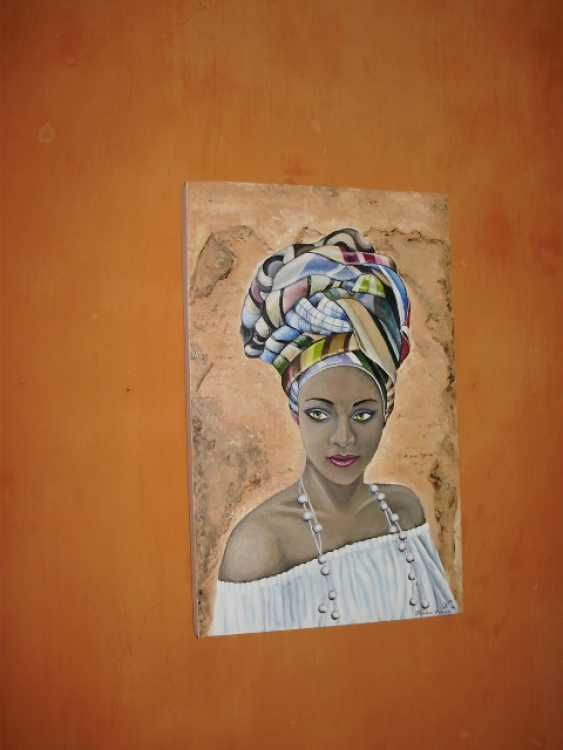 "Katarina Orlova. Portrait oil painting ""the Pearl of Africa"" - photo 3"