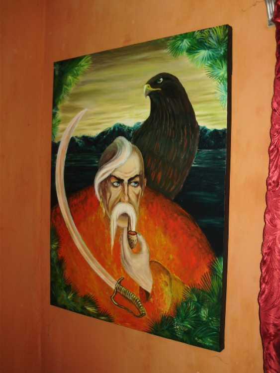 """Katarina Orlova. The painting """"We are the shadow, no one will hear"""" - photo 2"""