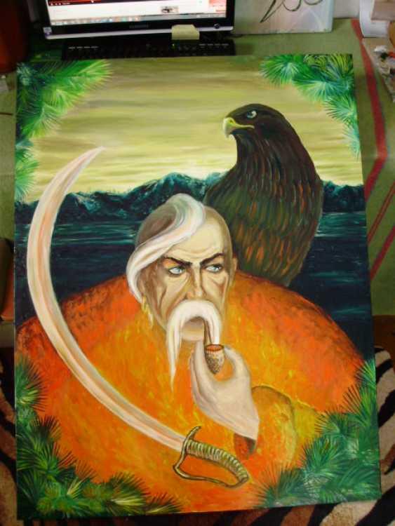 """Katarina Orlova. The painting """"We are the shadow, no one will hear"""" - photo 3"""