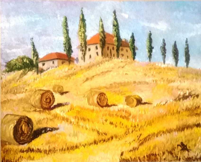 Nataliya Kashubina. Tuscan landscape - photo 1