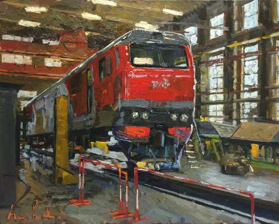 Daria Antonova. The birth of the locomotive. - photo 1
