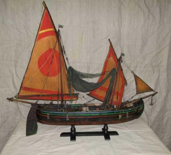 Vitaliy Anakhin. Italian fishing boat tartan of the province of Chioggia, Venice. Italian fishing boat tartan, province of Ciega, Venezia. - photo 1