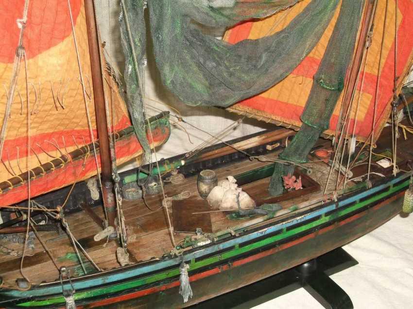 Vitaliy Anakhin. Italian fishing boat tartan of the province of Chioggia, Venice. Italian fishing boat tartan, province of Ciega, Venezia. - photo 3