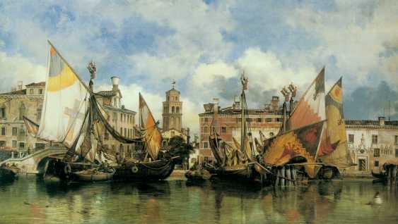 Vitaliy Anakhin. Italian fishing boat tartan of the province of Chioggia, Venice. Italian fishing boat tartan, province of Ciega, Venezia. - photo 4