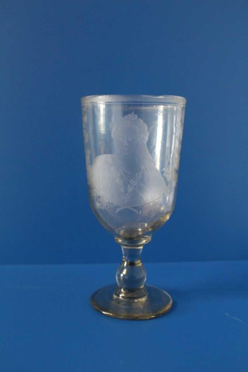 A glass of Ekaterina II, 1775 - photo 1