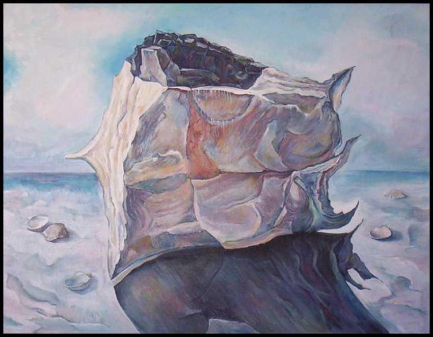 "vagif Abdullajev. ""Moonlight, the white stone"" - photo 1"
