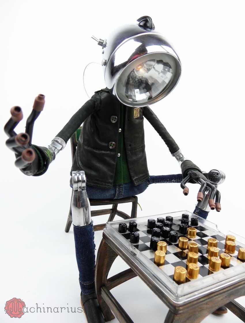 Master Machinarius. robot Mozgus - photo 2
