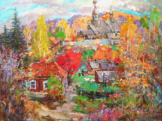 Andrey Mishagin. Autumn day is high and quiet... - photo 1