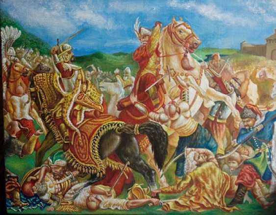 Yuriy Repik. Bataille de Pyliavtsi (1648) - photo 1
