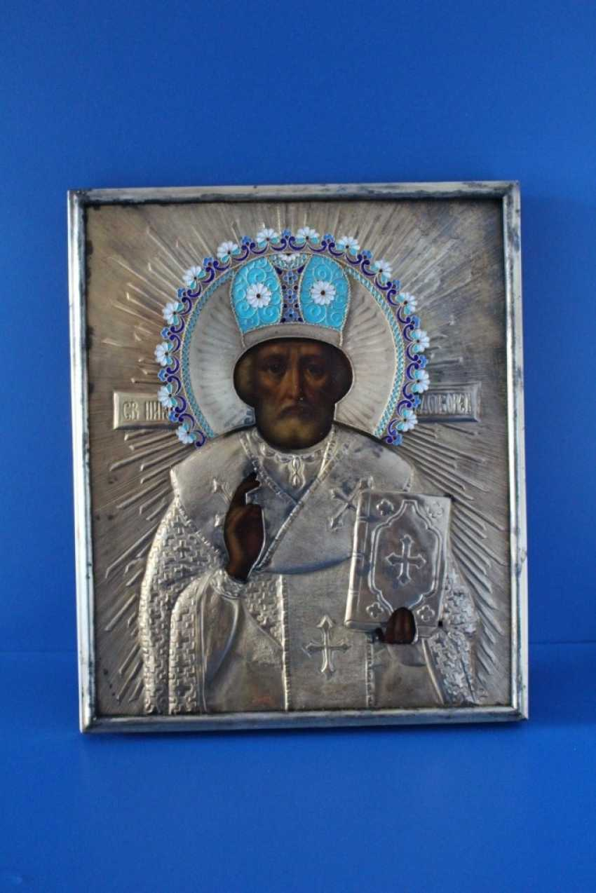 "Icon ""Nicholas the Wonderworker"" 1895 - photo 2"