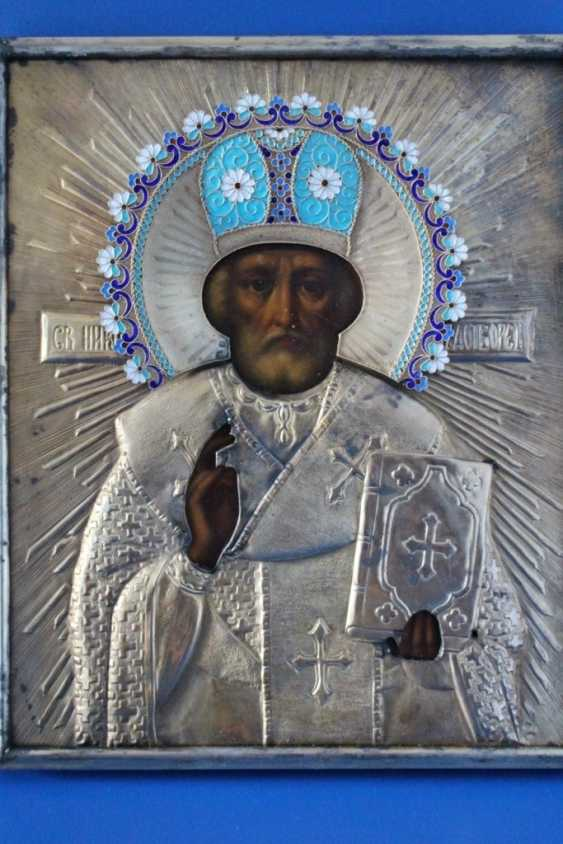 "Icon ""Nicholas the Wonderworker"" 1895 - photo 1"