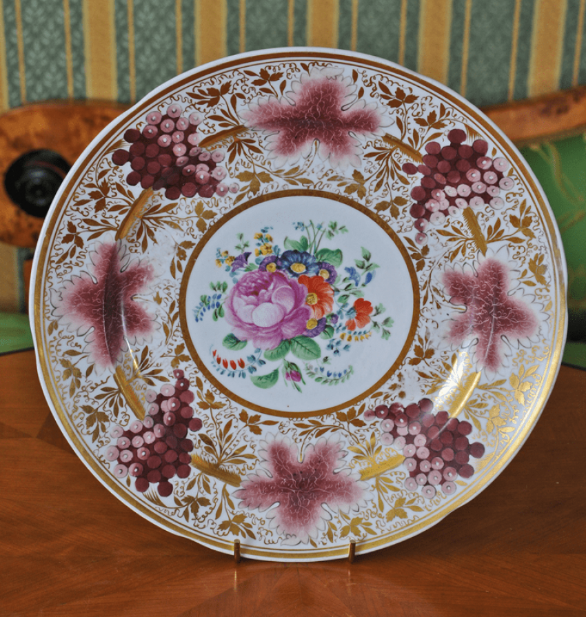 Plate from Corbasca service - photo 1