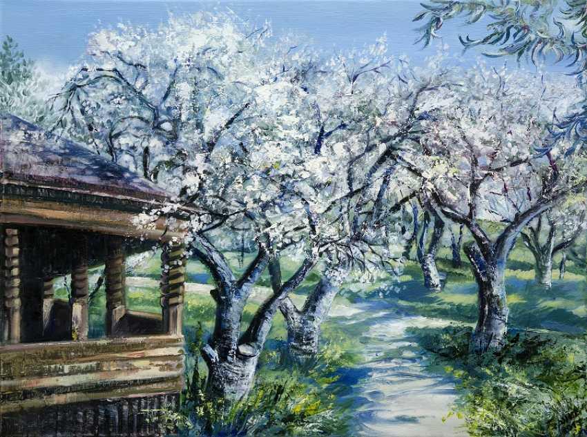 Olena Brzhosniovska. Spring Garden - photo 1