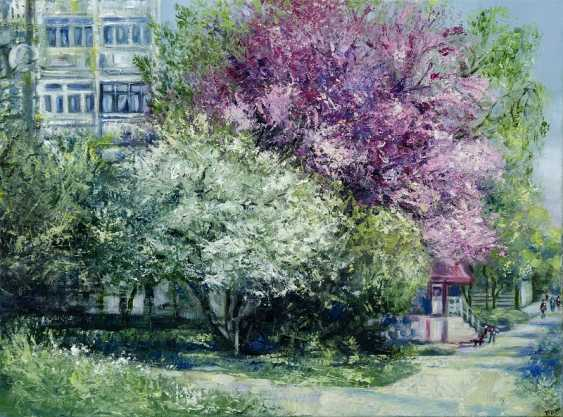 Olena Brzhosniovska. Spring In My City - photo 1