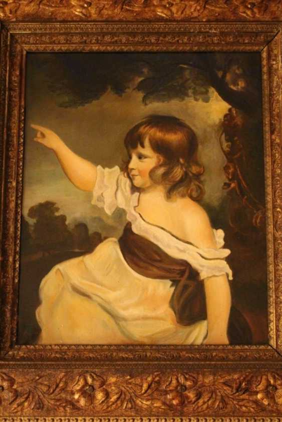"Replica of the painting ""Master Hare EUR"", SIR JOSHUA REYNOLDS (D. Reynolds) - photo 2"