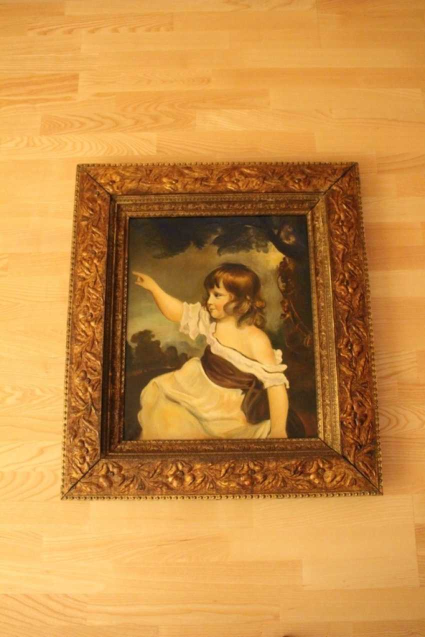 "Replica of the painting ""Master Hare EUR"", SIR JOSHUA REYNOLDS (D. Reynolds) - photo 1"