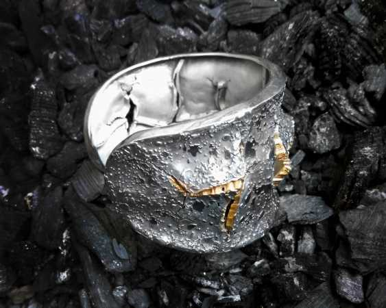 Roman Volkov. Silver bracelet with gold plating - photo 4