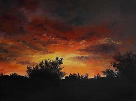 """Kateryna Ganina. """"Setting sun"""" - photo 1"""