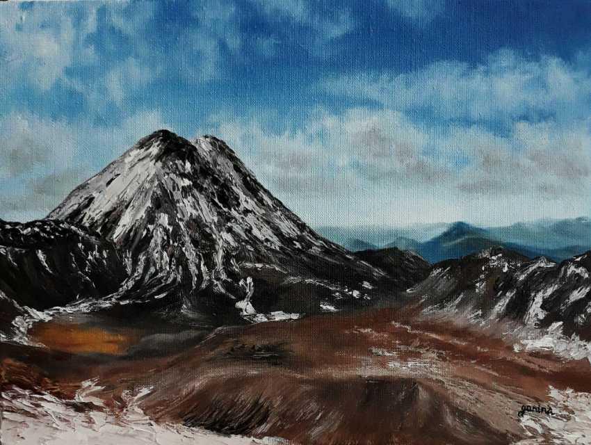 """Kateryna Ganina. """"The valley"""" - photo 1"""