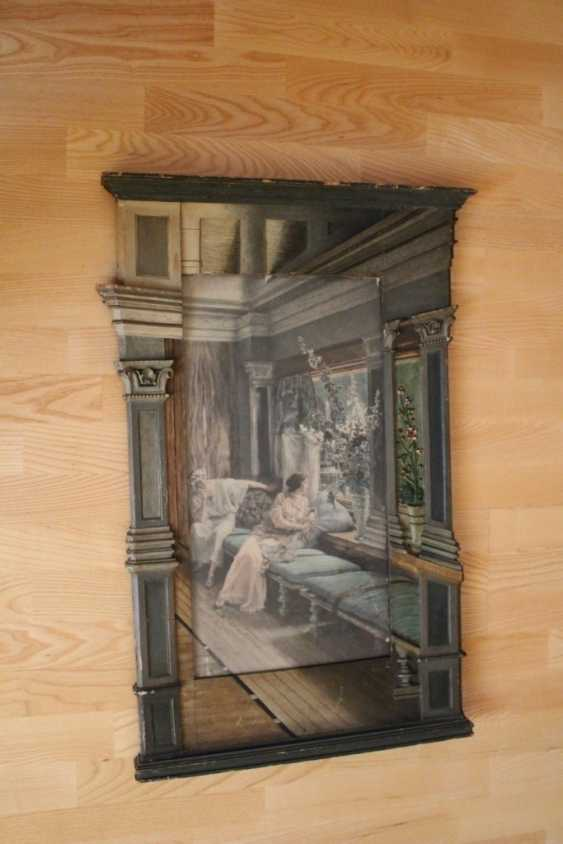 "The painting ""the window"", mid 19th century - photo 1"