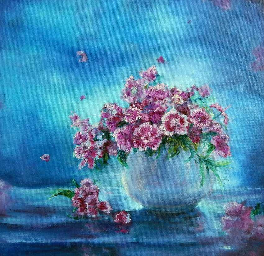 Tatiana Boho. Carnations in a vase - photo 1