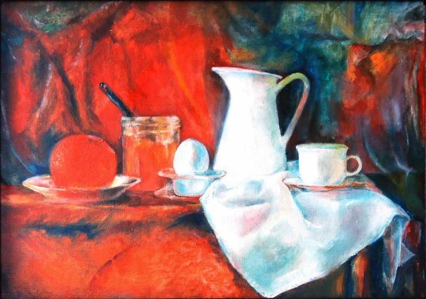 Tatyana Pavlova. Red orange. - photo 1