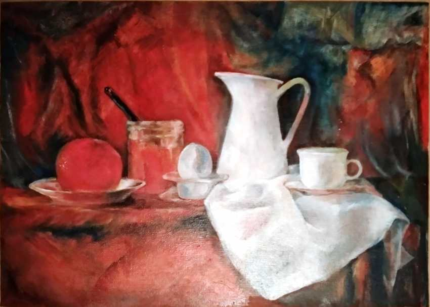 Tatyana Pavlova. Red orange. - photo 2