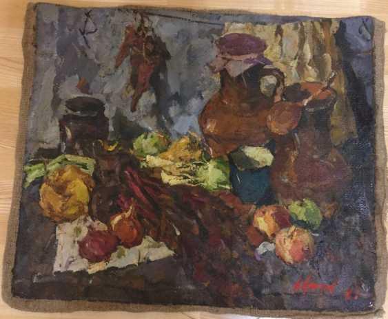 "The Painting ""Still Life"", N Kozhanov.In. 1984 - photo 1"