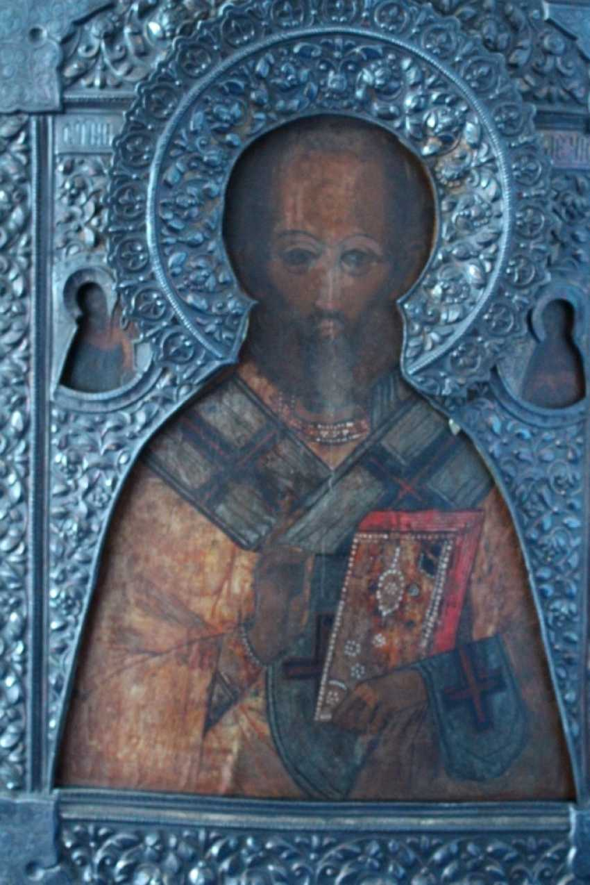 "Icon ""Nicholas the Wonderworker"" (the ark) - photo 2"