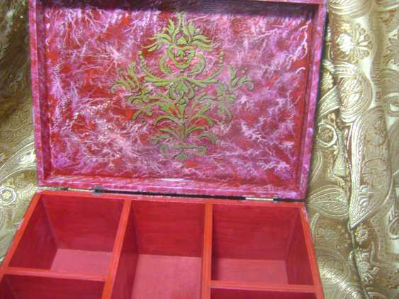 Lyudmila Kumaneva. Jewelry box with 5 compartments - photo 2