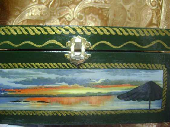 Lyudmila Kumaneva. Jewelry box with 5 compartments - photo 3