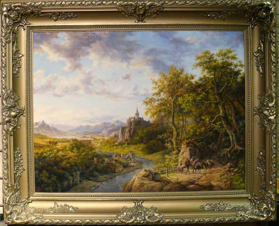 SERGEI IAKUSHCHENKO. Landschaft mit Burg - Foto 1