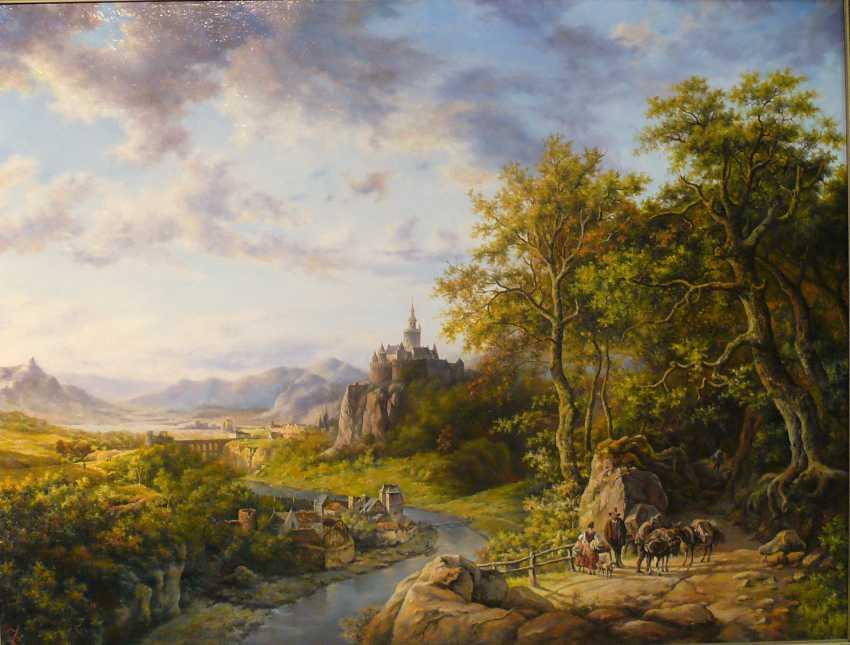 SERGEI IAKUSHCHENKO. Landschaft mit Burg - Foto 2