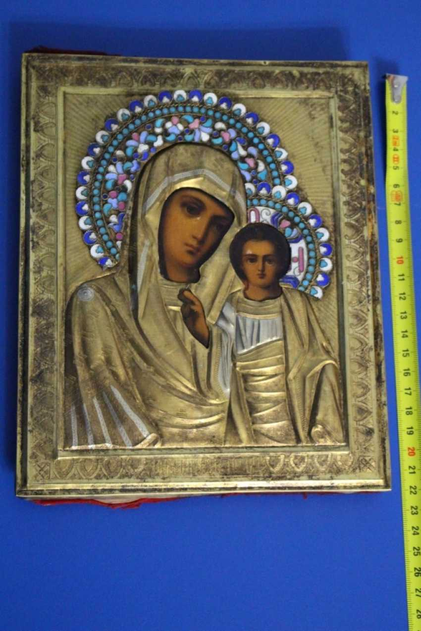 "Icon ""Mother Of God Of Kazan"" - photo 3"