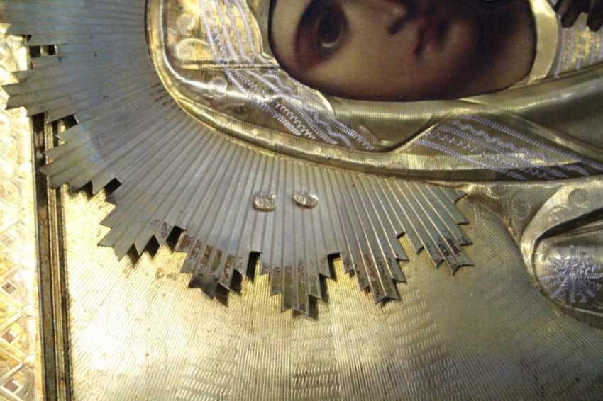 "Icon ""Mother Of God Of Kazan"" - photo 4"