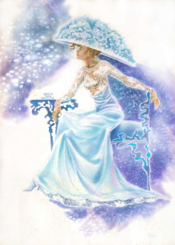 Helen Karpina. Lady in blue - photo 1