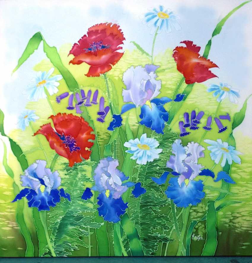 Helen Karpina. Poppies and irises - photo 1
