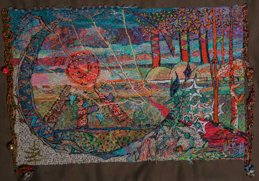 "Foma Faberge. embroidery ""skyline"" - photo 1"
