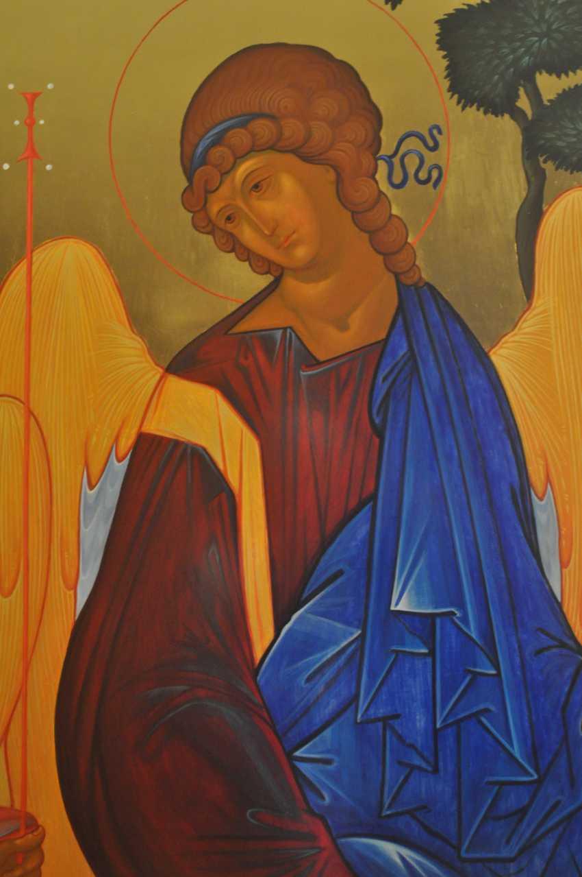 """Oksana Savchuk. the icon """"Trinity"""" - photo 2"""