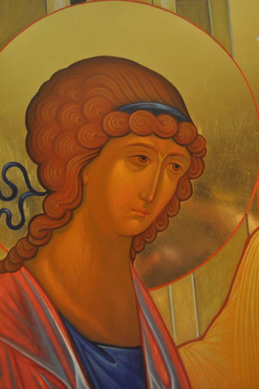"""Oksana Savchuk. the icon """"Trinity"""" - photo 3"""