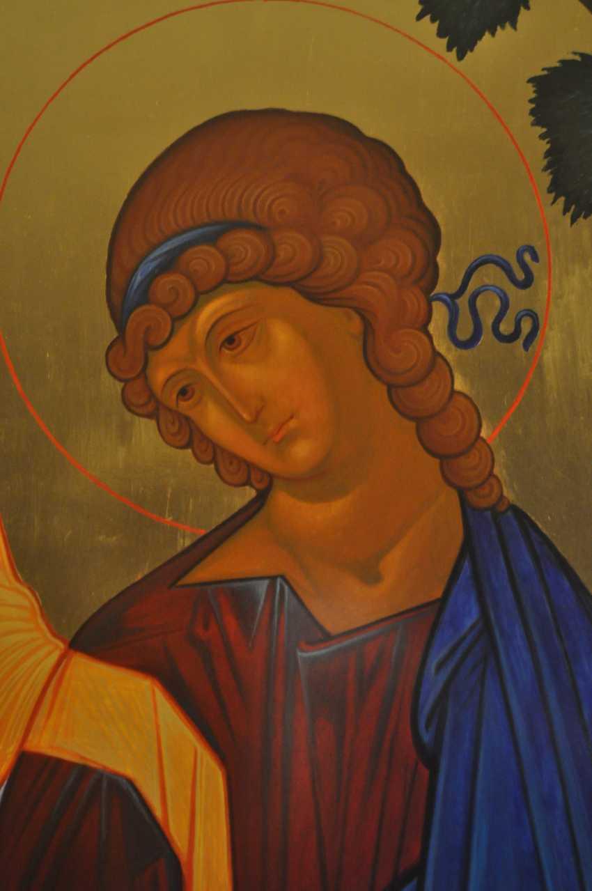 """Oksana Savchuk. the icon """"Trinity"""" - photo 4"""